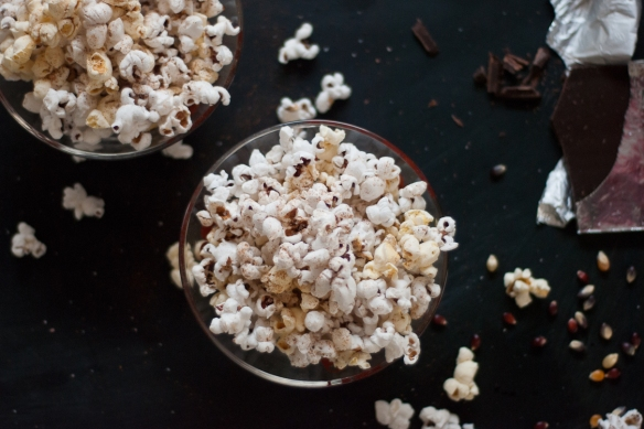 Mark Bittman's seasoned popcorn recipe (photo by Cookie + Kate)