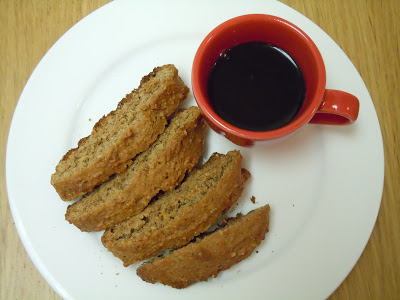 walnut biscotti
